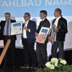 Service-Preis im Stauferkreis 2016-Stahlbau Nägele erhält Bauoskar in der Kategorie Handwerk